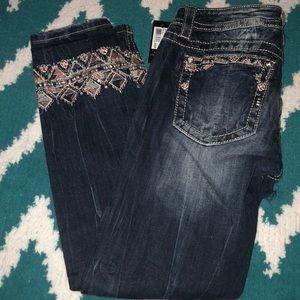 Miss Me Crop Jeans 👖
